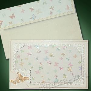 Приглашение на свадьбу с бабочками 140031-wed