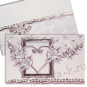 Свадебная пригласительная открытка TBZ 114707