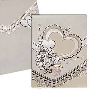Свадебная пригласительная открытка TBZ 114747
