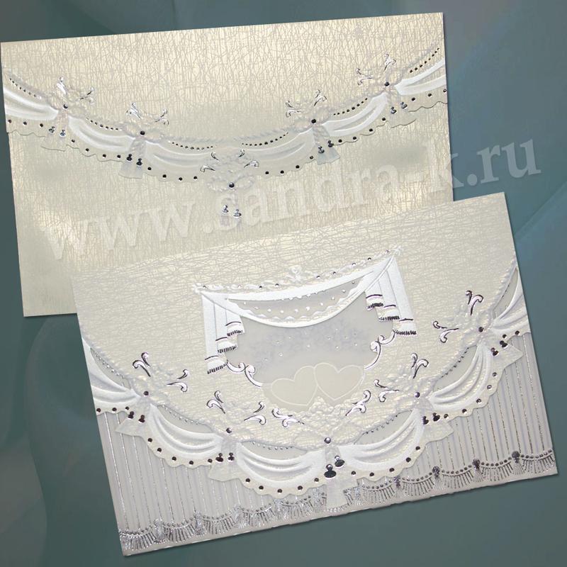 Свадебная пригласительная открытка TBZ 115218