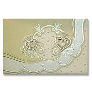 Свадебная пригласительная открытка TBZ 115456
