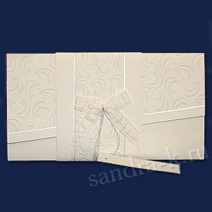 Подарочная открытка тройного сложения 108302