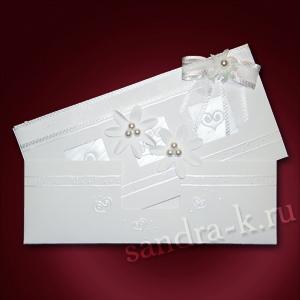 Свадебное приглашение ручной работы 108676