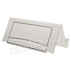 Банкетная карточка 20106 айвори