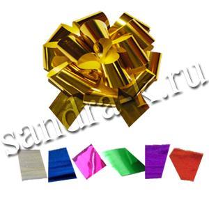 Бант-шар 50М металлизированный МИКС