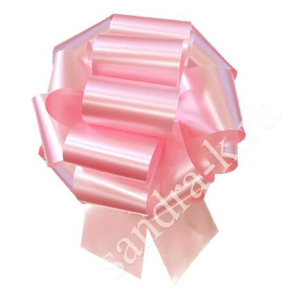 Бант-шар 32А однотонный светло-розовый