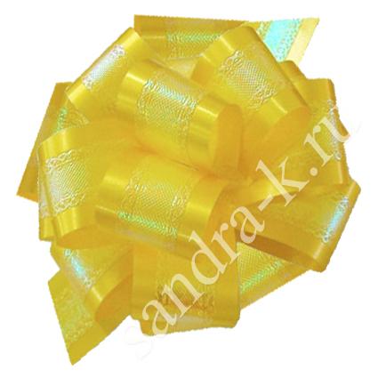 Бант-шар желтый перламутровый 50П