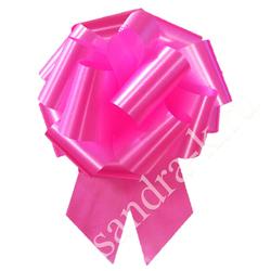 Бант-шар 32А малиновый однотонный