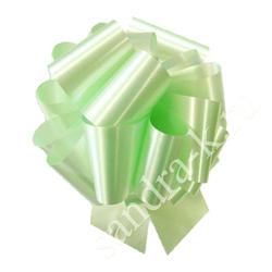 Бант-шар 65А однотонный светло-зеленый