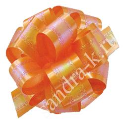 Бант-шар 32П перламутровый оранжевый