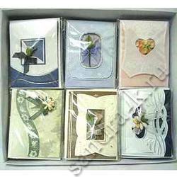 Мини-открытки ручной работы в наборе 73898