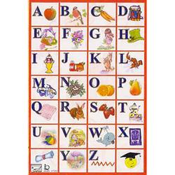 Наклейка английский алфавит 47062