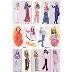 Наклейка Барби 580036