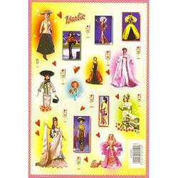 Наклейка Барби 692550