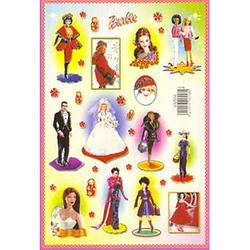 Наклейка Барби 692558