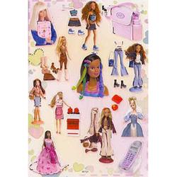 Наклейка Барби 80724