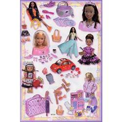 Наклейка Барби 80726