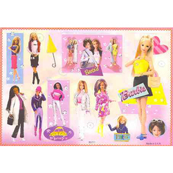 Наклейка Барби 80771