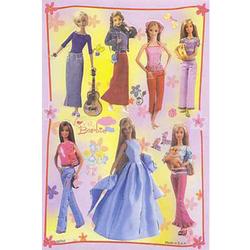 Наклейка Барби 80791