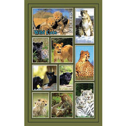 Наклейка дикие кошки 187-05