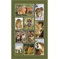 Наклейка дикие кошки 187-08