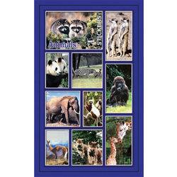 Наклейка дикие животные 187-10