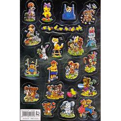 Наклейка игрушки металл. 510035