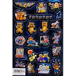 Наклейка игрушки металл. 510036