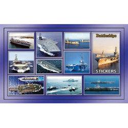 Наклейка корабли 188-12