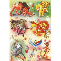 Наклейка Король Лев 6-12-540