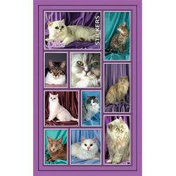 Наклейка кошки 187-18