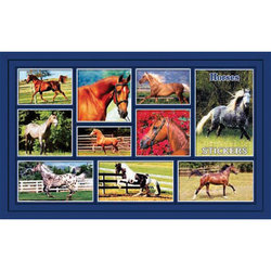 Наклейка лошади 187-01