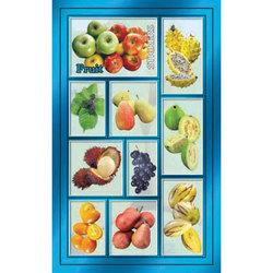 Наклейка фрукты 186-14