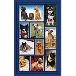 Наклейка собаки 187-12