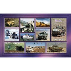 Наклейка танки 188-06