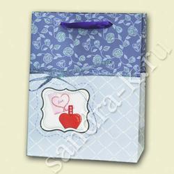 Сумка 18-23-10 см бумажная ламинированная YS-D-0103