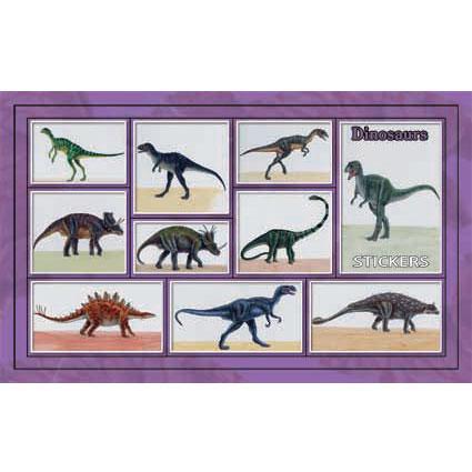 Наклейка динозавры 186-20
