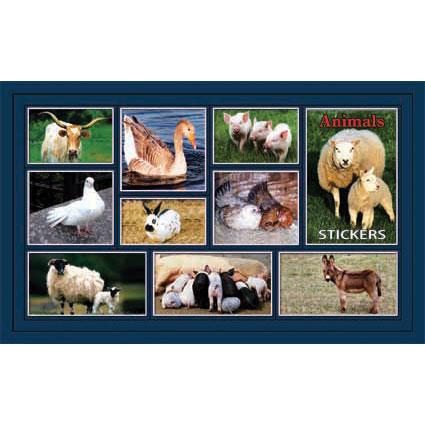 Наклейка домашние животные 186-09