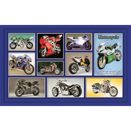 Наклейка мотоциклы 188-17