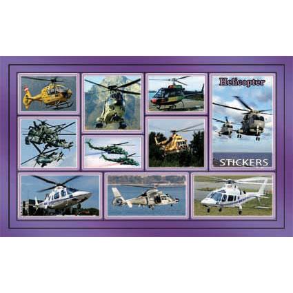 Наклейка вертолеты 188-01
