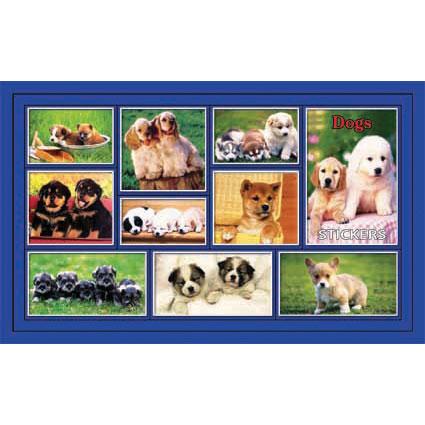 Наклейка собаки 187-15