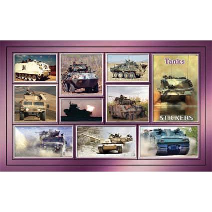 Наклейка танки 188-05