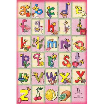 Наклейка английский алфавит 47160