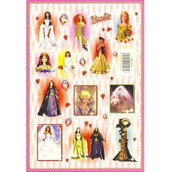 Наклейка Барби 692556