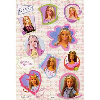 Наклейка Барби 80790